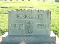 Maude <i>Corson</i> Burroughs