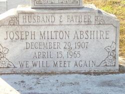 Joseph Milton Abshire
