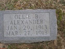 Ollie Bee Alexander