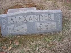 William Thomas Alexander