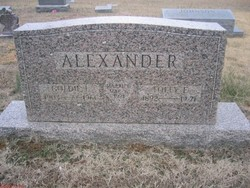 Tolly Elbert Alexander