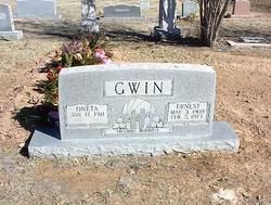 Oneta A. <i>Atwood</i> Gwin