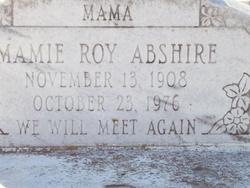 Mamie <i>Roy</i> Abshire