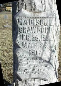 Madison E Crawford