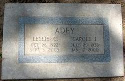 Leslie Claggett Adey