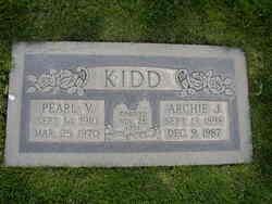 Pearl Virginia <i>Lloyd</i> Kidd