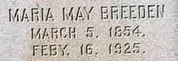 Maria <i>May</i> Breeden