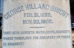 Dr George Hillard Bright