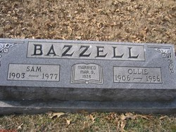 Ollie Fay <i>Paschall</i> Bazzell