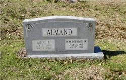 Alline <i>Braswell</i> Almand