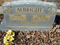 Virgie <i>Minton</i> Albright