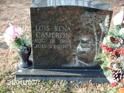 Lois Rena Cameron
