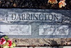 Mary Josephine <i>Whitaker</i> Darrington