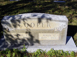 Mamie Elizabeth <i>Stall</i> Cooper