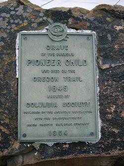 Pioneer Child Unknown