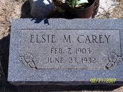Elsie Mable <i>Nuttall</i> Carey