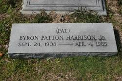 Byron Patton Pat Harrison, Jr