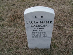 Laura Mable <i>Mangrum</i> Caluger