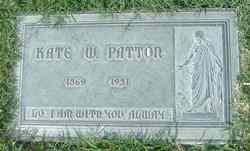 Kate Woodward <i>Parr</i> Patton