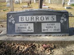 Minnie D. <i>Uhl</i> Burrows