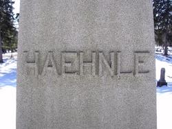 Amelia Mauch <i>Baltz</i> Haehnle