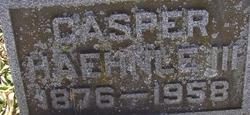 Casper Haehnle, III