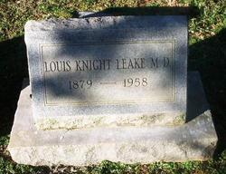 Dr Louis Knight Leake