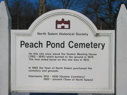 Peach Pond Cemetery