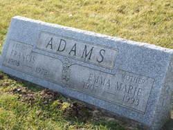 Emma Marie <i>Jentzen</i> Adams