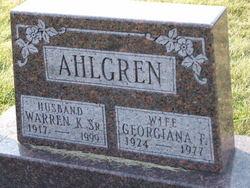 Warren Kenneth Ducky Ahlgren, Sr