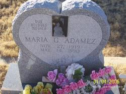 Maria <i>Garcia</i> Adamez