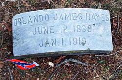 Capt Orlando James Hayes