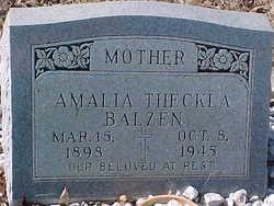 Amalia Theckla <i>Cook</i> Balzen