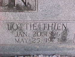Charlotte Cecilia Lottie <i>Thien</i> Balzen