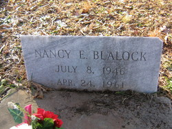 Nancy E Blalock