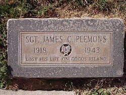 Sgt James C. Plemons