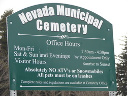 Nevada Municipal Cemetery