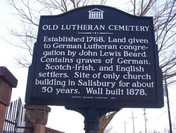 Old Lutheran Church Cemetery