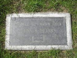 Pern B Hobbs