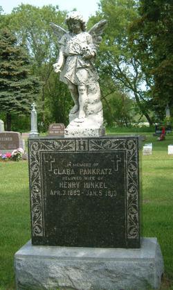 Clara <i>Pankratz</i> Hinkel