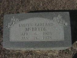 Evelyn <i>Gerland</i> McBryde