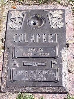 Lucy Virginia <i>Vance</i> Colapret