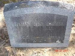 John Key Baker