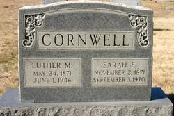 Sarah Francis Cornwell