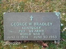 George W Bradley