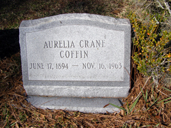 Aurelia Elizabeth <i>Crane</i> Coffin