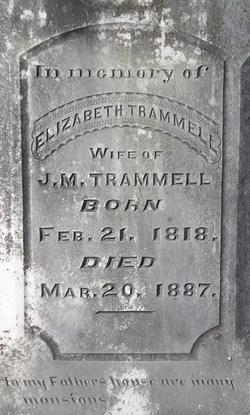 Elizabeth <i>Spivey</i> Trammell