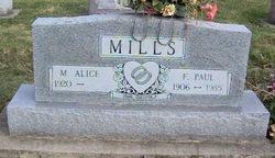 F. Paul Mills