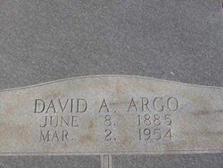 David A Argo