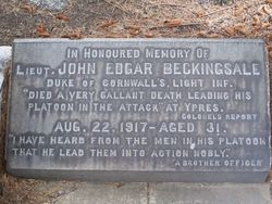 John Edgar Beckingsale